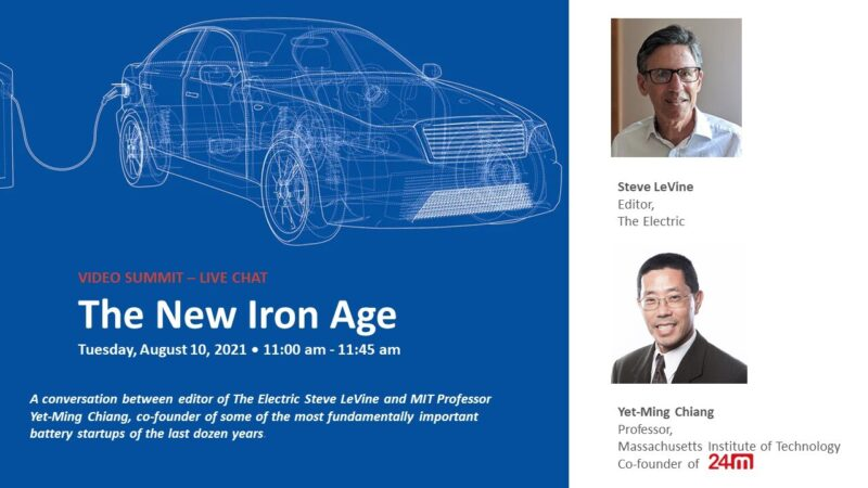 Steve Levine Live Chat The New Iron Age